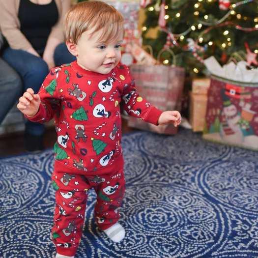 baby christmas pajamas hm