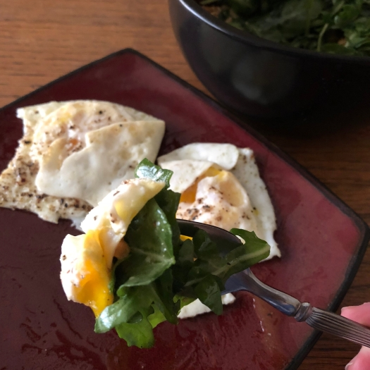 Fried Eggs in Ghee Whole30