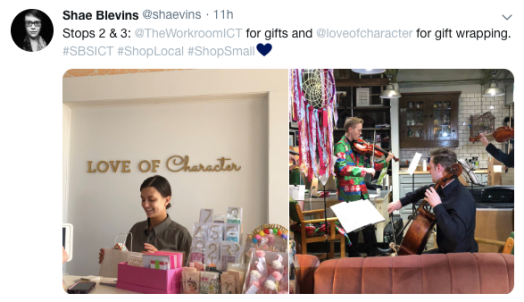Love of Character and the Workroom on Small Business Saturday