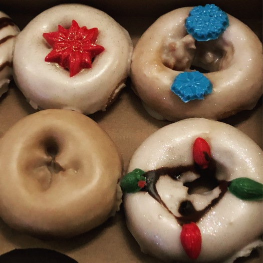 christmas donuts from the donut whole in wichita kansas