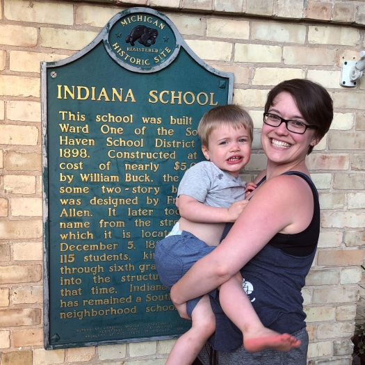 indiana school michigan historical site